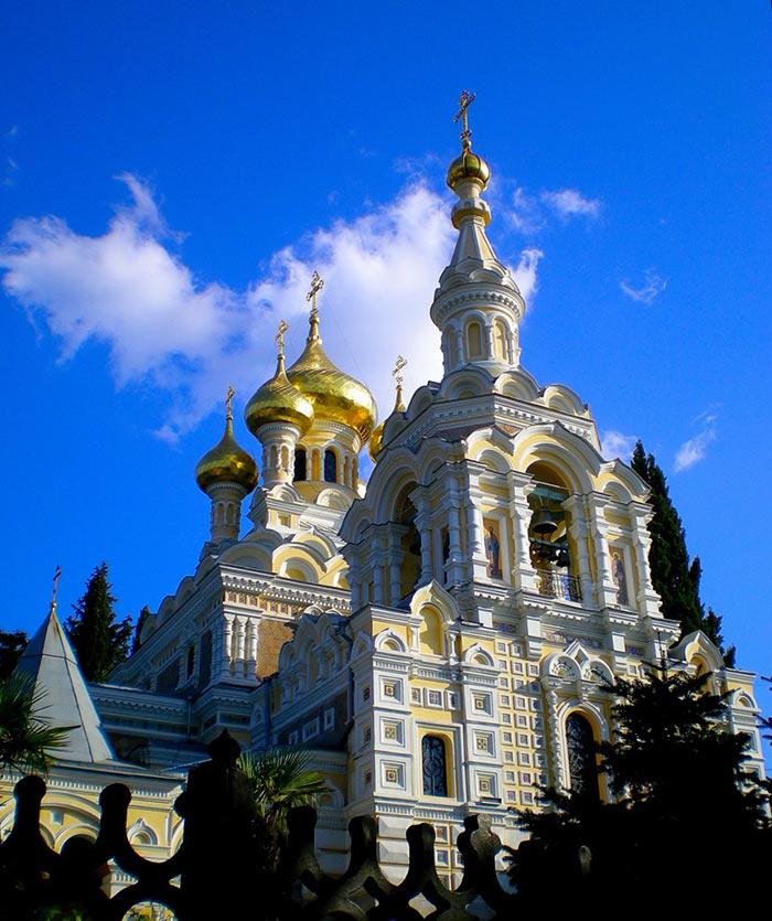 Собор Александра Невского в Ялте иллюстрация 2
