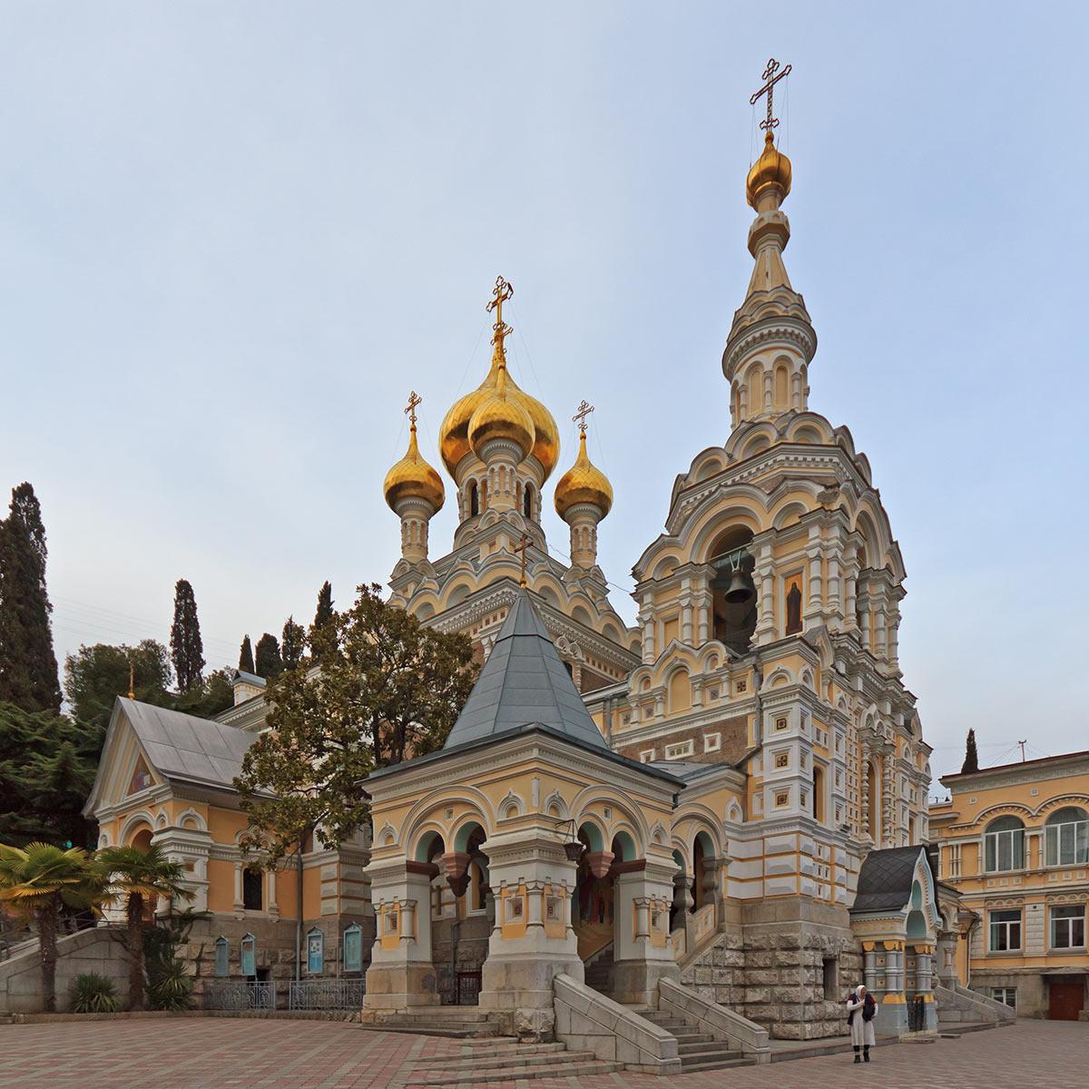 Собор Александра Невского в Ялте иллюстрация 3