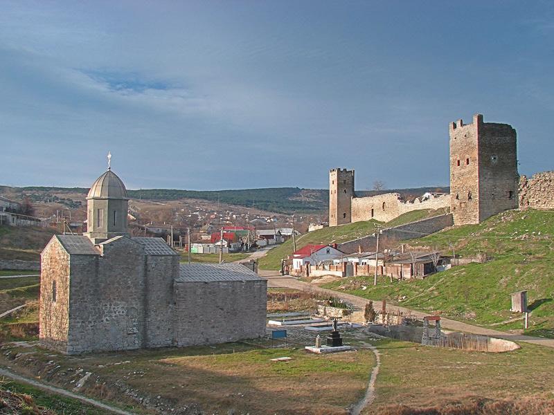 Генуэзская крепость Кафа (Феодосия) иллюстрация 0