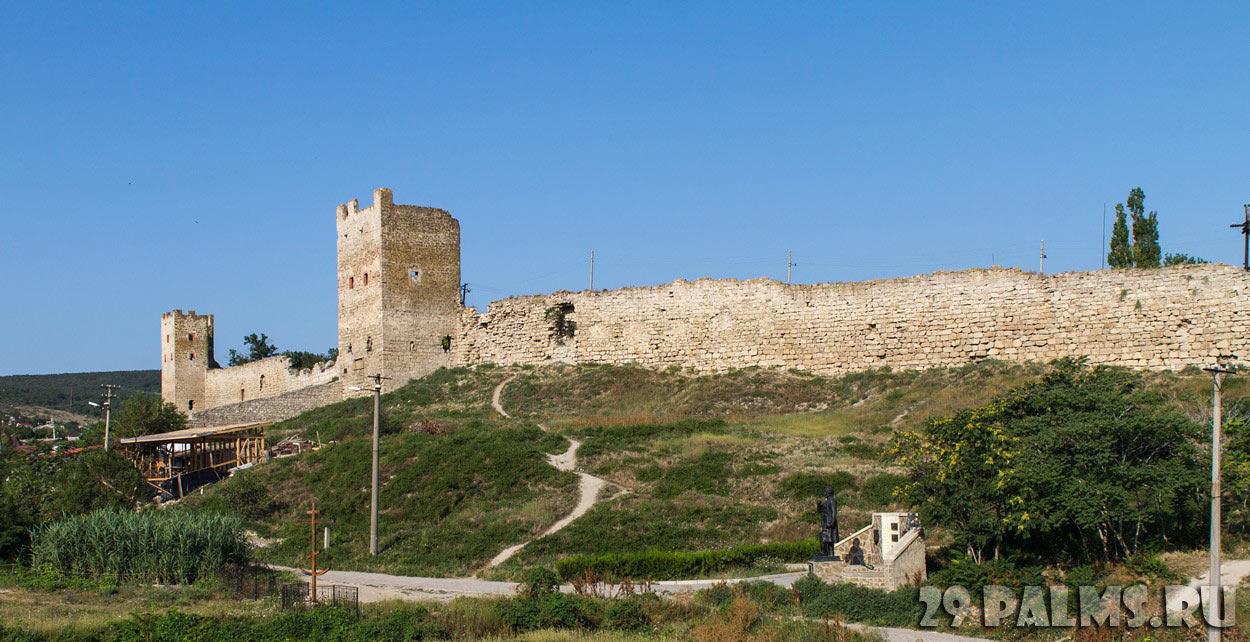 Генуэзская крепость Кафа (Феодосия) иллюстрация 1