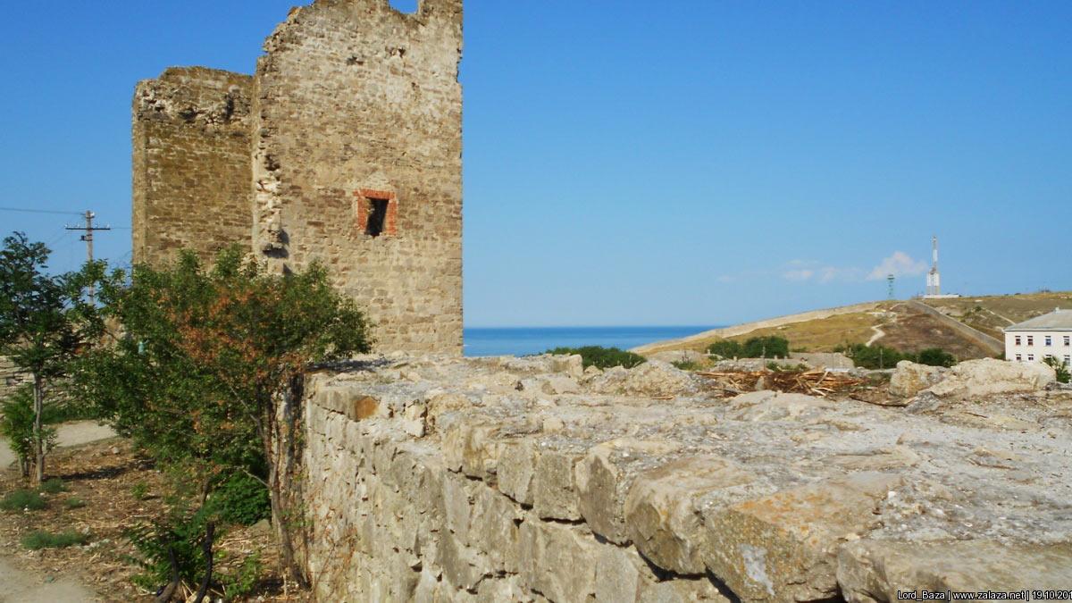 Генуэзская крепость Кафа (Феодосия) иллюстрация 2