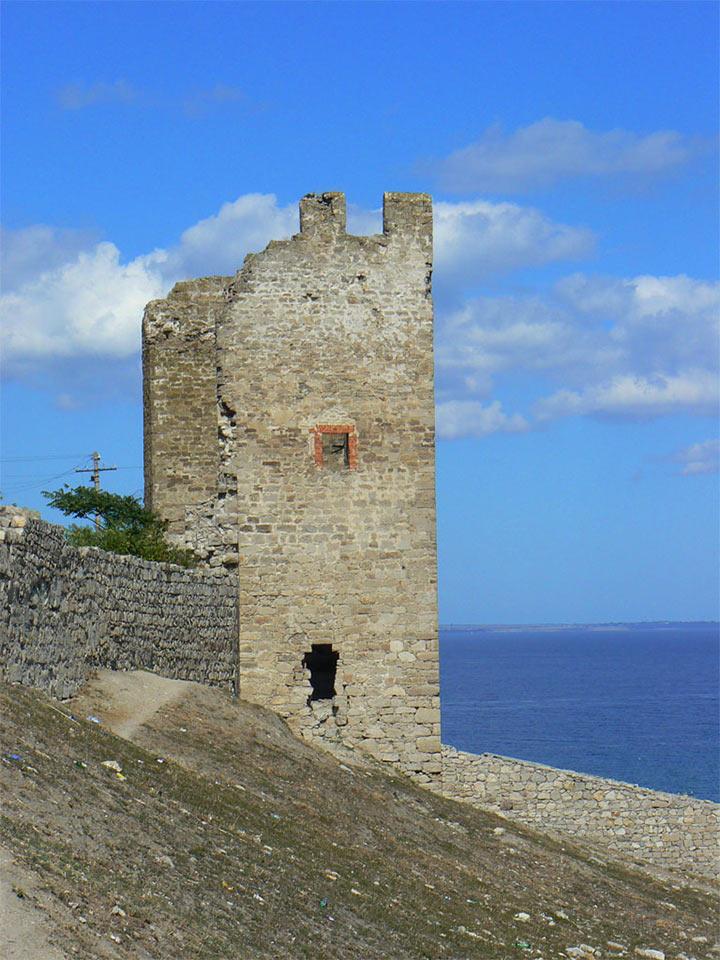 Генуэзская крепость Кафа (Феодосия) иллюстрация 3