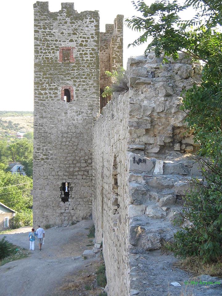Генуэзская крепость Кафа (Феодосия) иллюстрация 7