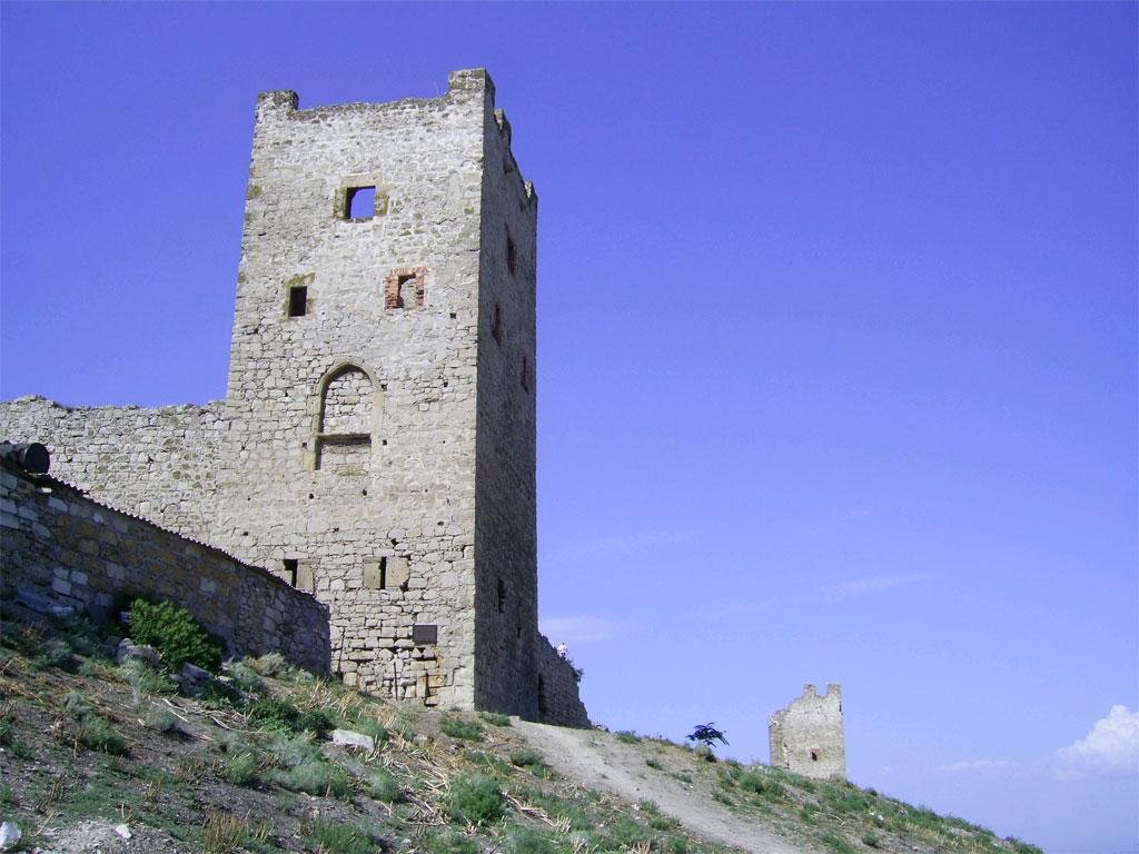 Генуэзская крепость Кафа (Феодосия) иллюстрация 8