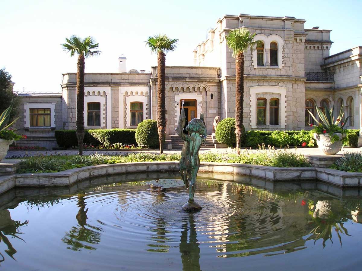 фото юсуповский дворец в крыму